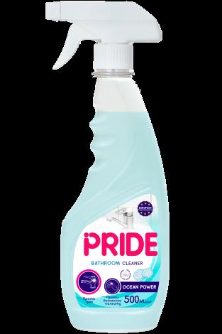 Средство для мытья ванной комнаты и сантехники против ржавчины и известкового налета PRIDE Ocean Power 500 мл