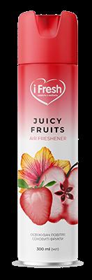 Освежитель воздуха Juicy Fruits с ароматом сочных фруктов iFresh 300 мл