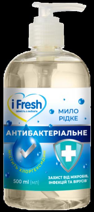 Жидкое мыло Антибактериальное iFresh 500 мл