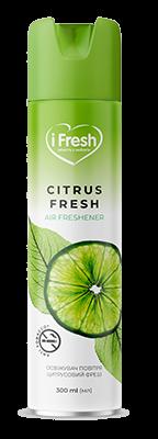 Освіжувач повітря Citrus Fresh з ароматом цитрусової свіжості 300 мл