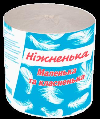 """Туалетная бумага серая ТМ """"Ніжненька"""""""