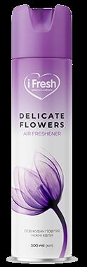 Освіжувач повітря Delicate Flowers з ароматом ніжних квітів iFresh 300 мл
