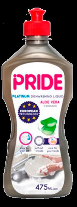 Средство для мытья посуды Aloe vera PRIDE PLATINUM 475 мл