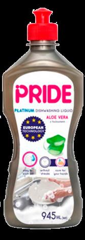 Средство для мытья посуды Aloe vera PRIDE PLATINUM 945 мл